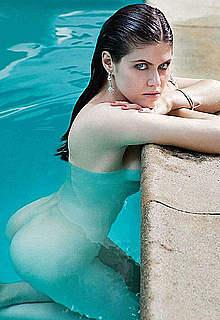 Alexandra Daddario sexy & undressed mag scans