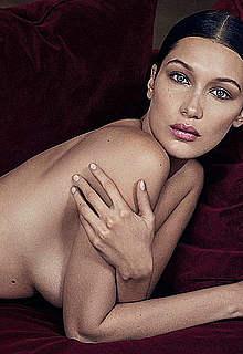 Bella Hadid sexy and undressed posing photos