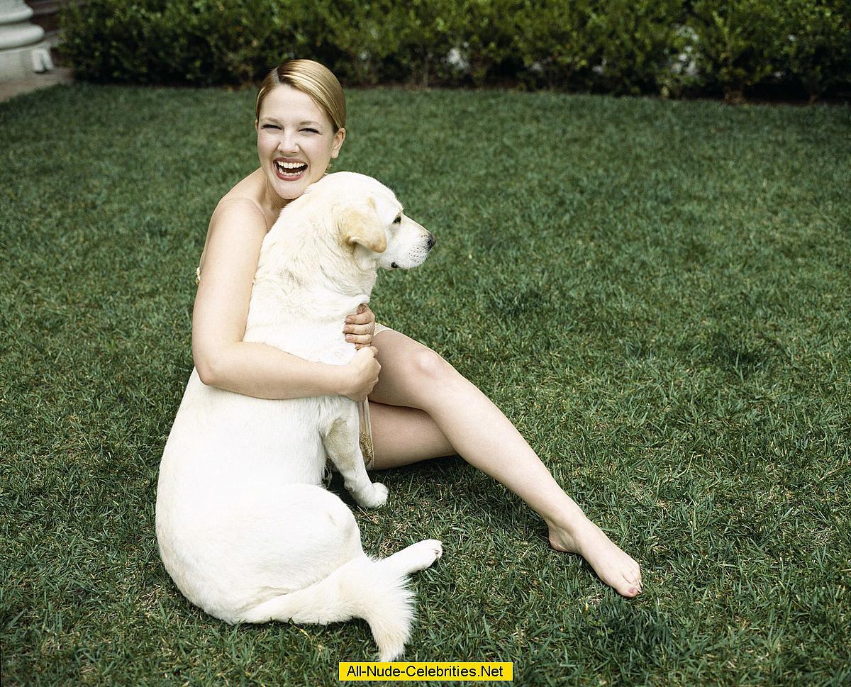 Drew Barrymore in nature photoshoot Drew Barrymore Divorce
