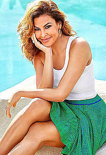 Eva Mendes sexy posing scans from magazines
