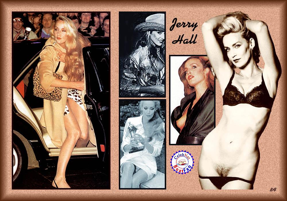 Jerry hall nude commando