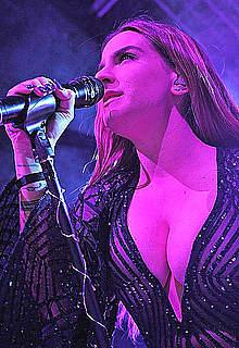 Joanna Levesque performs at KOKO in Camden