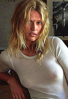 Toni Garrn sexy and see through mag images