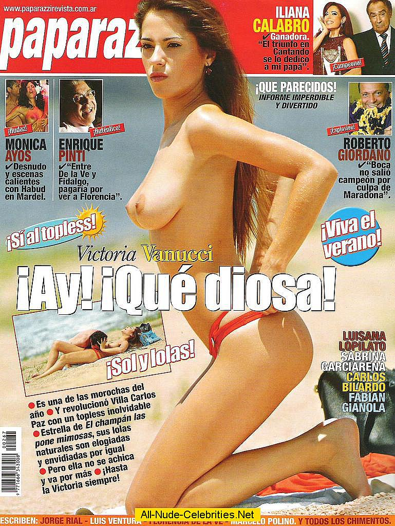 victoria vanucci topless scans and on the beach paparazzi shots